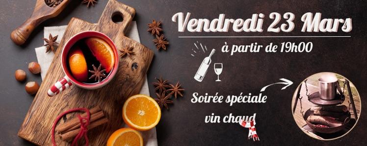 Soirée spéciale Vin Chaud / Vendredi 23 Mars 🍷🇨🇦