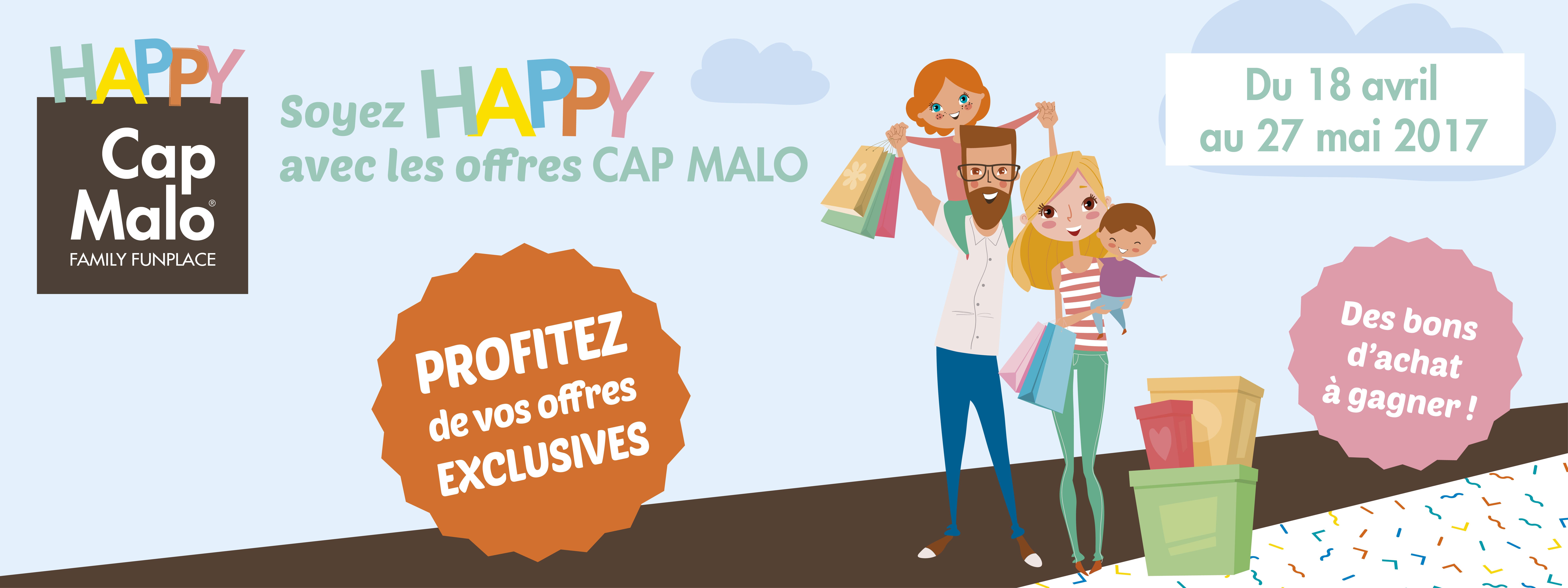 Soyez HAPPY avec Cap Malo !