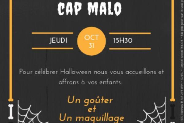 HALLOWEEN chez DPAM CAP MALO 👻🎃