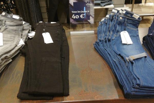 Opération jeans S. Oliver