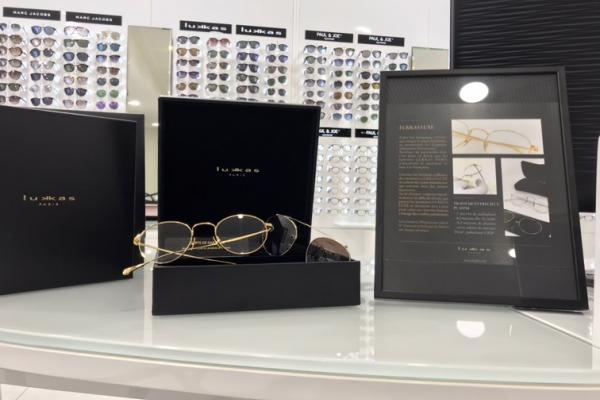 Montures Lukkas luxe chez Optical Center