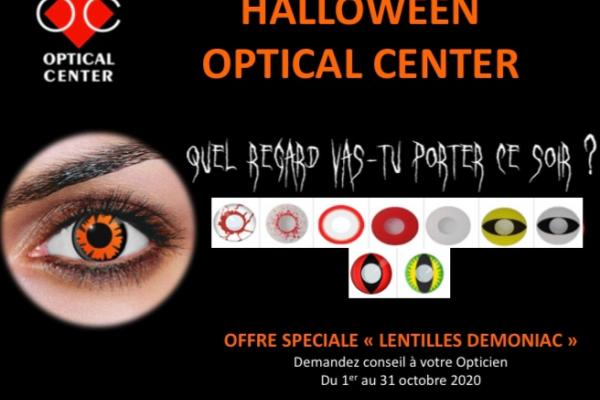 Lentilles Halloween Optical Center