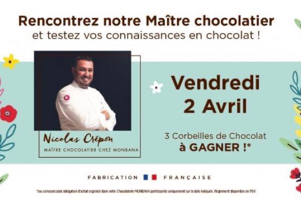 Rencontrez notre Maître Chocolatier Monbana