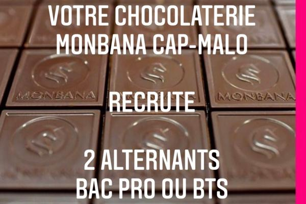 Monbana Cap-Malo recrute deux alternants Bac Pro ou BTS