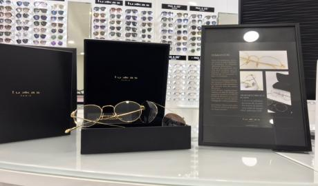 Montures Lukkas luxe chez Optical Center