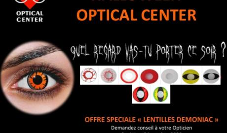 Lentilles Halloween Optical Center