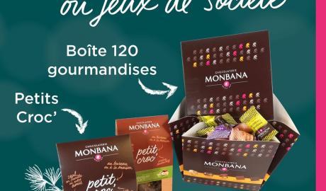 Votre chocolaterie Monbana est ouverte au public !