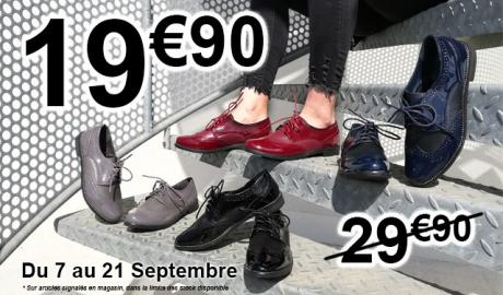 Promotions Derbys Chausser