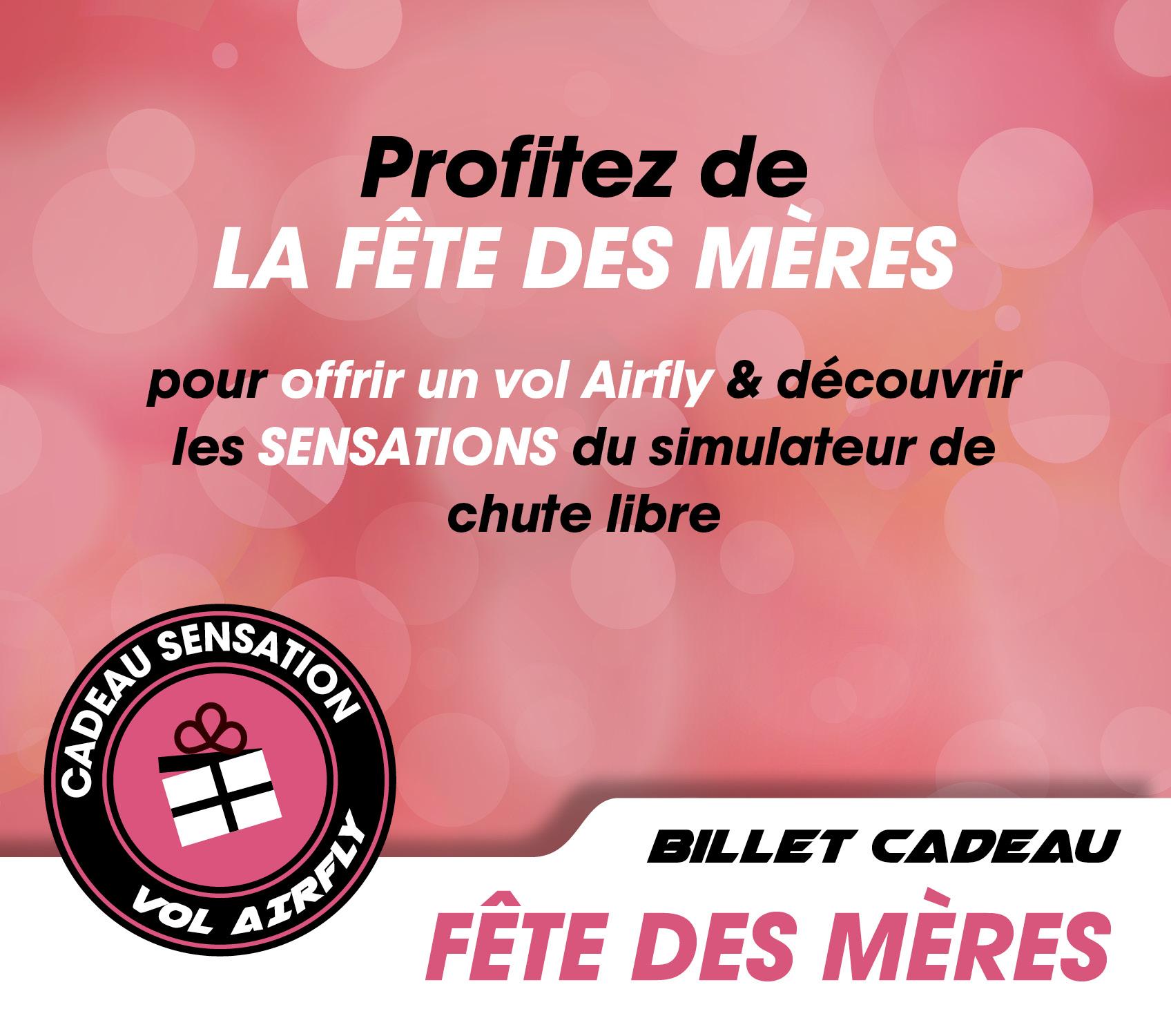 Offre Fête des mères avec AirFly Bretagne