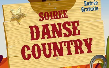 Soirée danse country au Bowling de Cap Malo